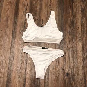 JLux White Bikini